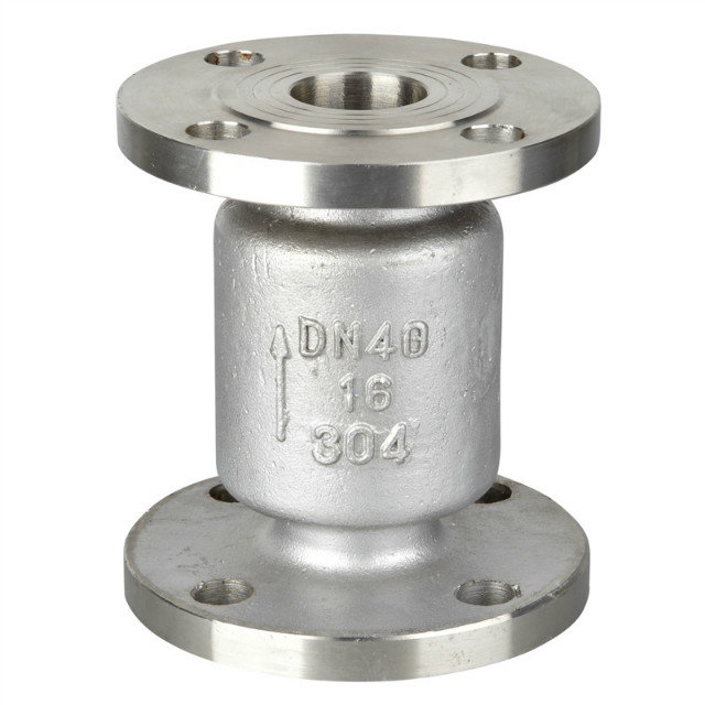 Stainless Steel Flanged Vertical Check Valve