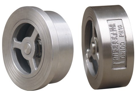 H71W Stainless Steel Disc Type Wafer Check Valve