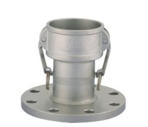 Stainless Steel C Type Camlock Coupling with Flange
