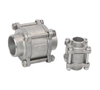 3PC Stainless Steel Vertical Check Valve
