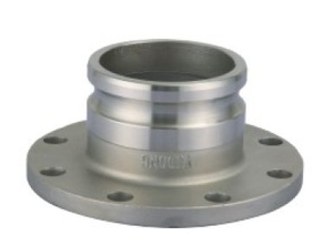 Stainless Steel A Type Camlock Coupling with Flange