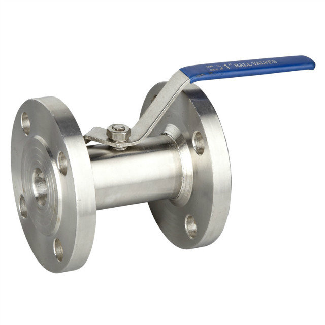1PC Stainless Steel Flange Bar Stock Ball Valve