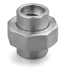 SS304/316 Stainless Steel 2000LB Thread High Pressure Union
