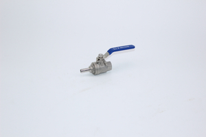 2PC Stainless Steel Thread Ball Valve With Hose Nipple
