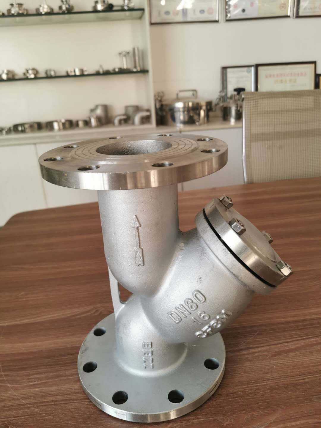 Stainless Steel ANSI Flanged Y Type Strainer
