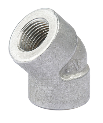 Socket 45 Degree Elbow With High Pressure 6000PSI Stainless Steel