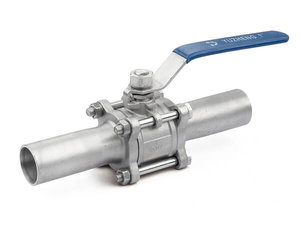 3PC Stainless Steel Butt Weld Ball Valve
