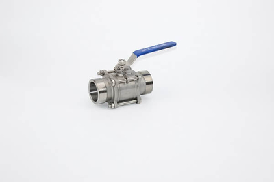 3PC Stainless Steel Male Thread Ball Valve