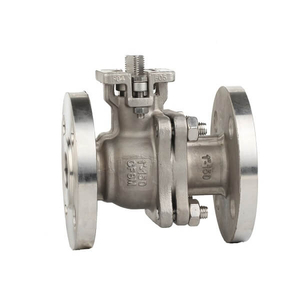 ANSI Stainless Steel Flange Ball Valve with ISO5211 Pad