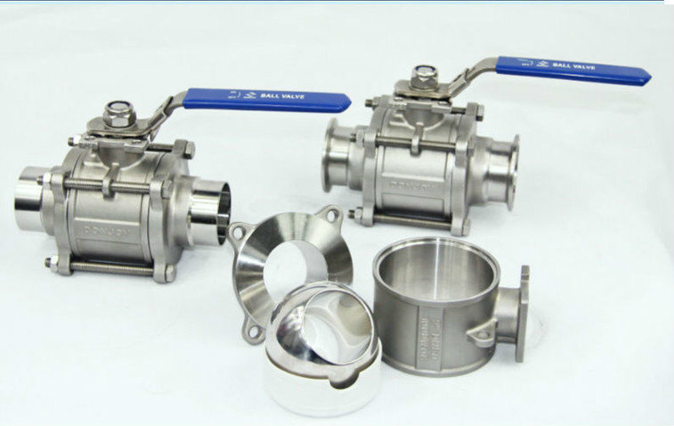 3PC Stainless Steel Float Ball Valve Manufacturer in China